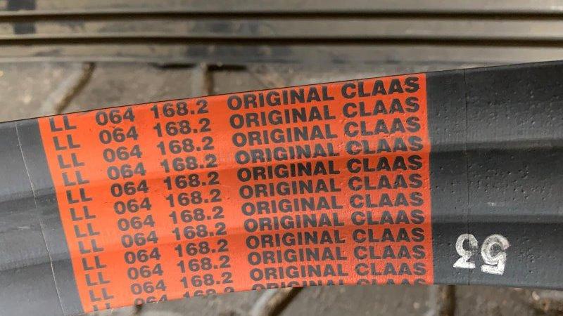 CLAAS Keilriemen 064.168,2 für Dominator/ Commandor - Mähdrescherteile - Sonstiges