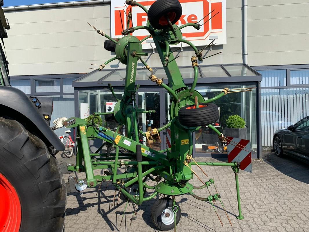 Krone KW 6.72 x 6 - Grünlandtechnik + Futtererntetechnik - Kreiselheuer