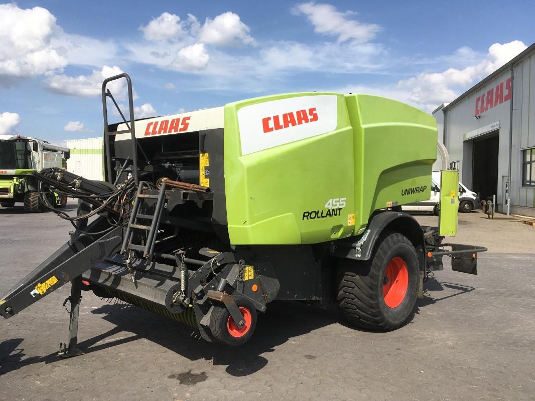 CLAAS Rollant 455 RC Uniwrap - Presse - Press-/Wickelkombination