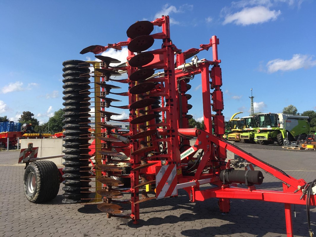 Pöttinger Terradisc 6001 T - Modelljahr 2016 - Bodenbearbeitungsgeräte - Scheibenegge