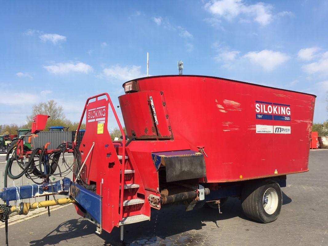 Siloking Duo 16 - Fütterungstechnik - Futtermischwagen