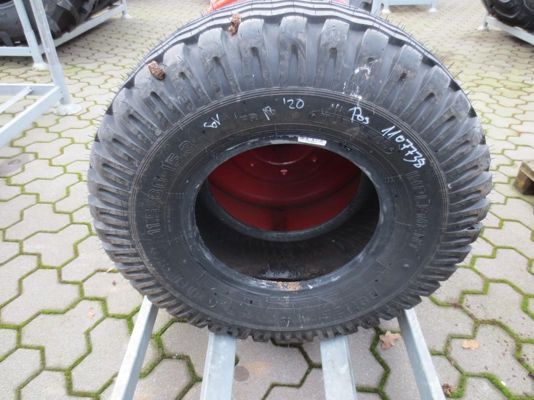 Petlas 11.5/80-15.3 - Räder + Reifen + Felgen - Rad