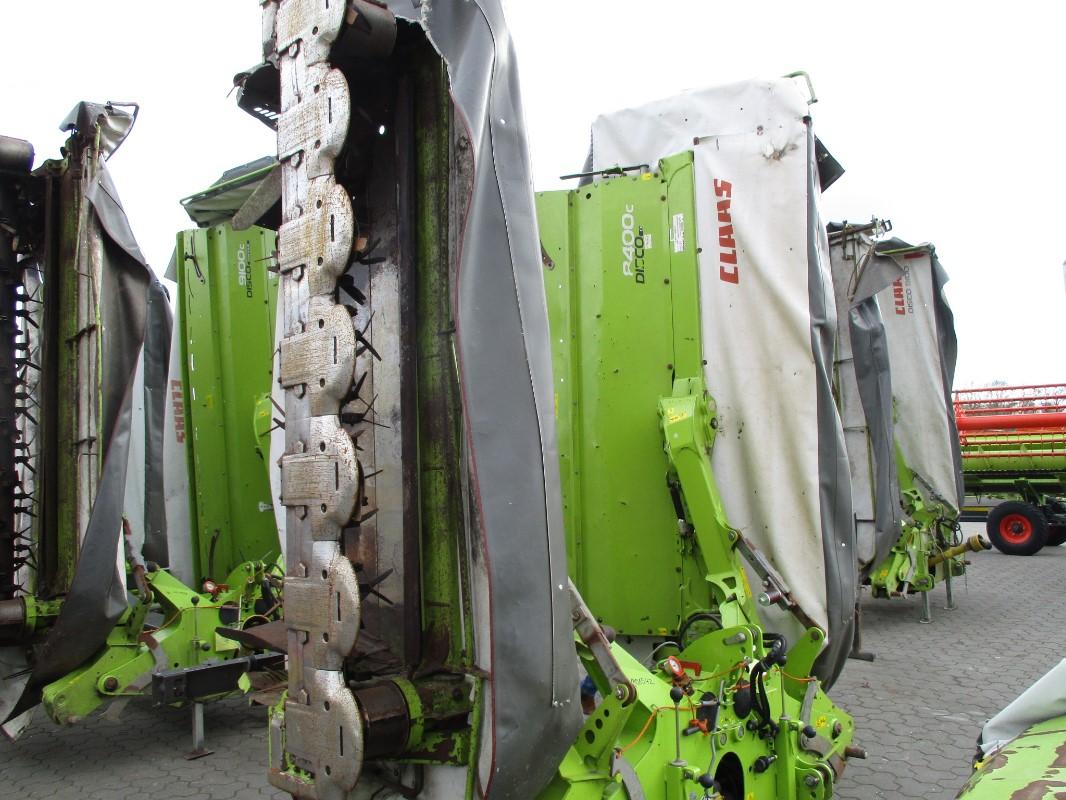 CLAAS DISCO 8400 C CONTOUR - Grünland- u. Futtererntetechnik - Mähwerk