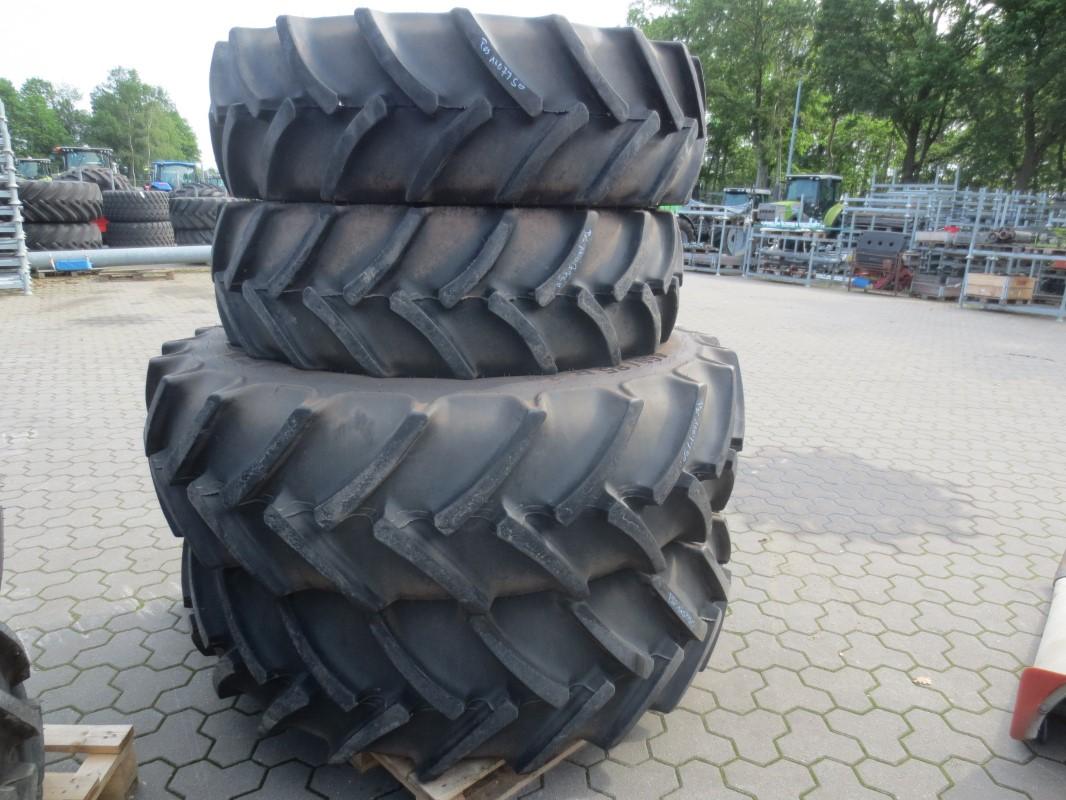 Mitas 380/85R28, 460/85R38 - Räder + Reifen + Felgen - Komplettradsatz