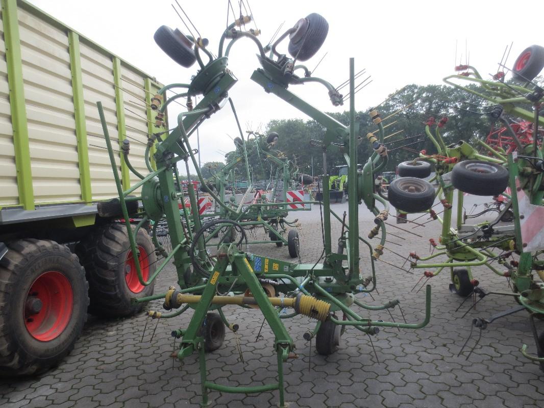 Krone KW 7.82 - 6x7 - Technologie des pâturages + technologie de récolte du fourrage - Le faucheur rotatif