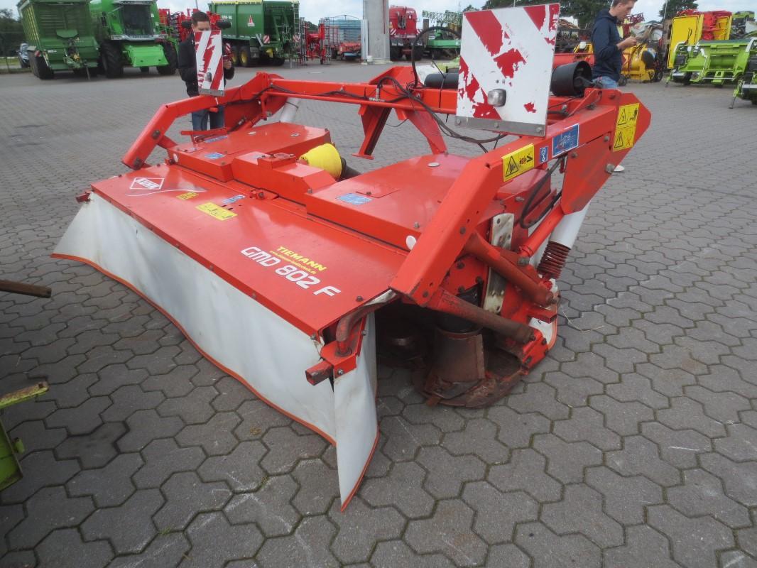 Kuhn GMD 802 F - Grünland- u. Futtererntetechnik - Mähwerk