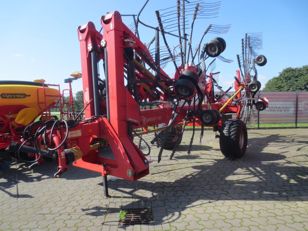 Vicon Andex 1503 - Grünlandtechnik + Futtererntetechnik - Schwader