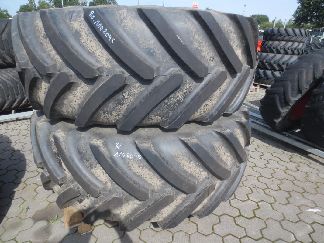 Michelin 600/70R30//710/70R42 - Räder + Reifen + Felgen - Komplettradsatz