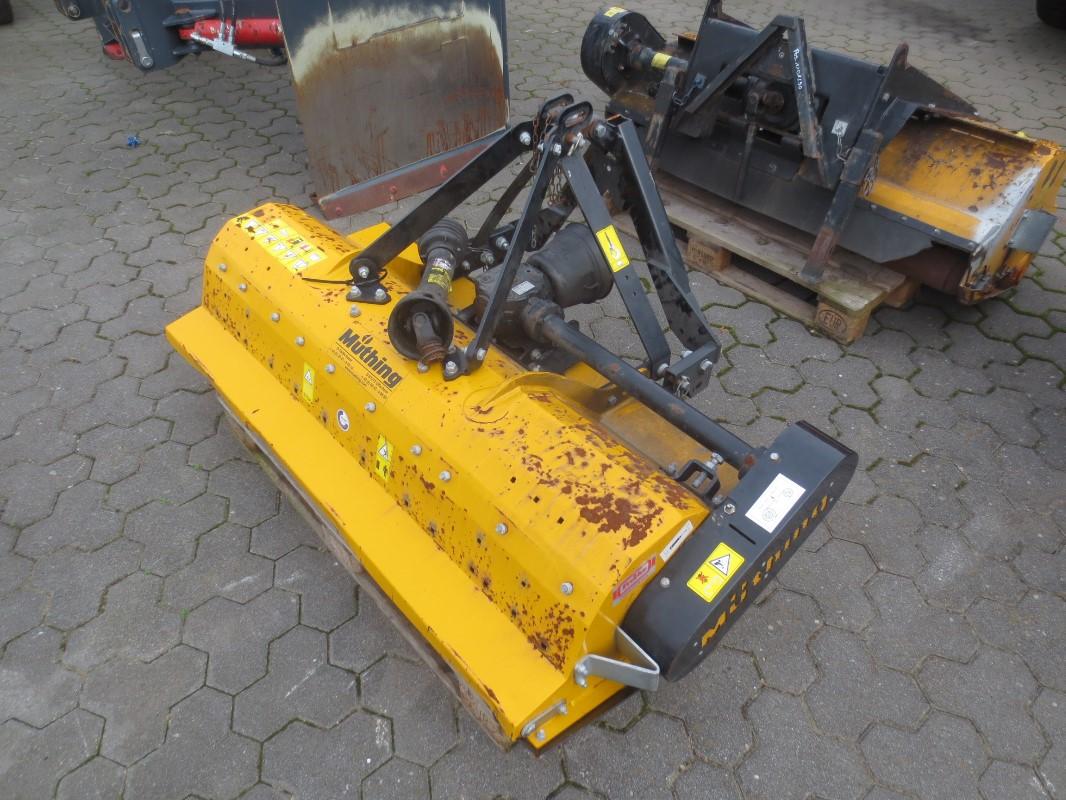 Müthing MU-C 140 - Outil de travail du sol - Broyeur + Hacheur